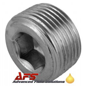 1/8 NPT Allen Key Socket Head Male Blanking Plug Hydraulic Taper Thread